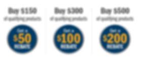 Miller build with blue rebate program save