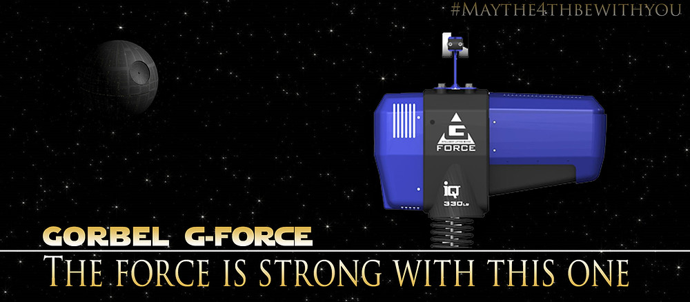 Gorbel G-Force Star wars themed title