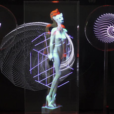 Hologramme Chattewoman