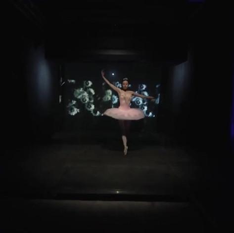 Projection écran de vapeur