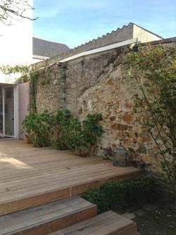 intégration_Hydrangeas_terrasse