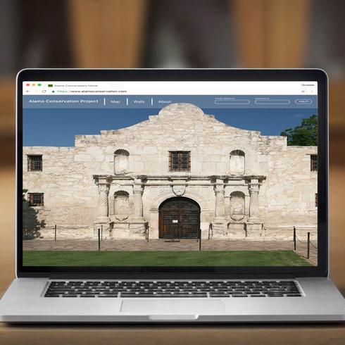Alamo Conservation Website Design
