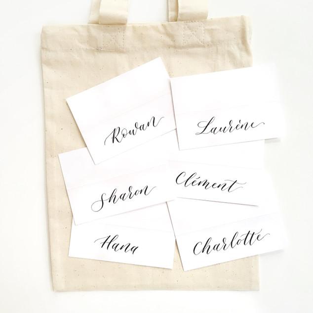 Activation de marque Calligraphie Paris.