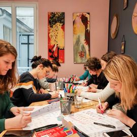 Atelier Brush Lettering Stabilo France.j