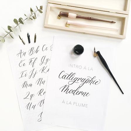 Atelier Calligraphie à la plume Paris.jp
