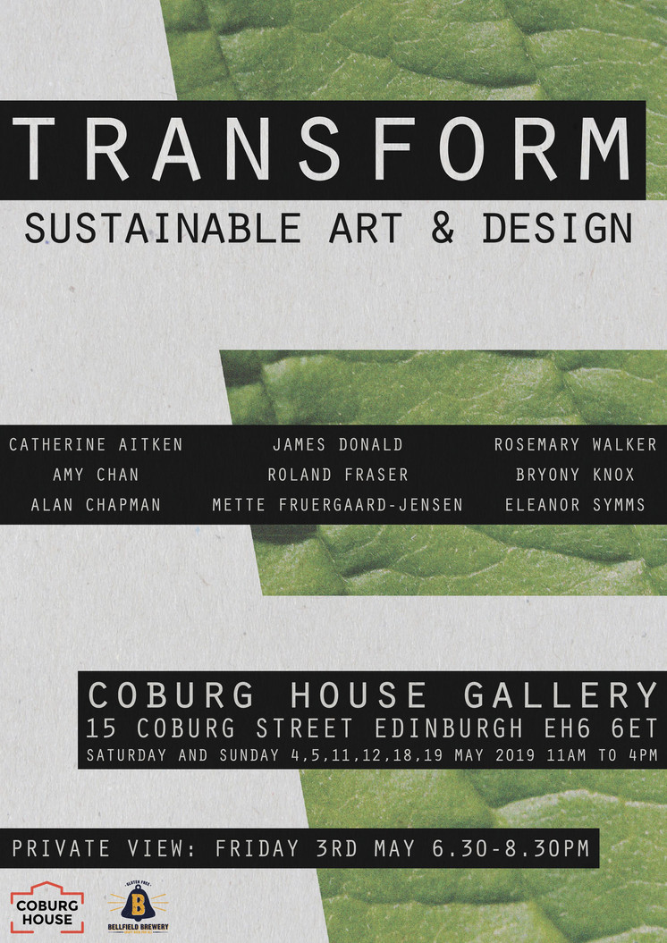 Transform- Sustainable Art and Design