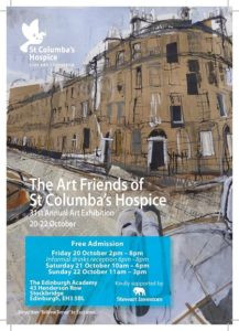 Scottish artists and designers support St Columba's Hospice 40th year celebration