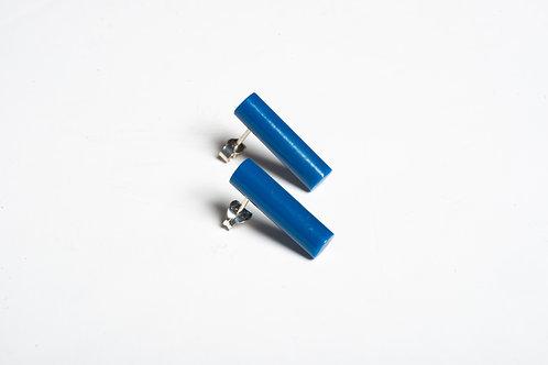 Dark Denim Blue Colour Post Earrings