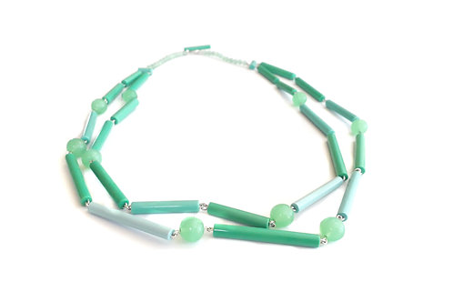 Found: Green and Turquoise Necklace