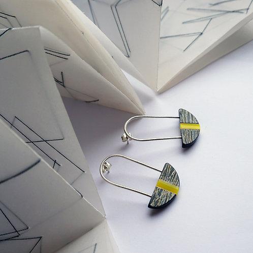 Ultimate Sunshine Curved Drop Earrings