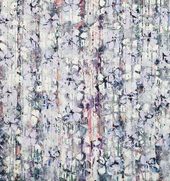 White & Violet Cascade II