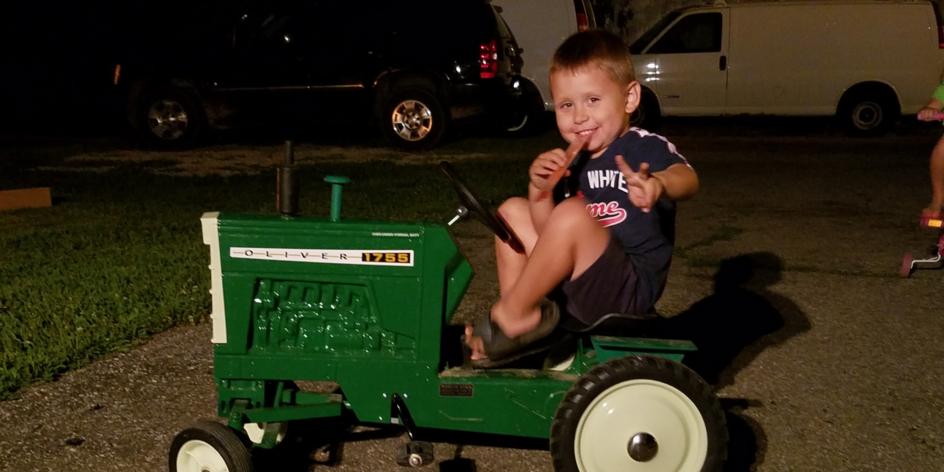 Pedal Tractor Winner 2019