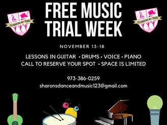 Free Music Class Trials This Week!