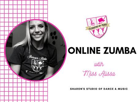 Online Zumba Classes with Miss Alissa