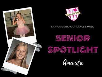 Senior Spotlight: Amanda Romano
