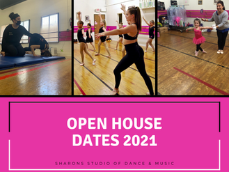 Open House Dates 2021
