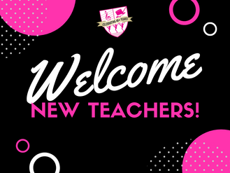 Welcoming Our New Teachers!