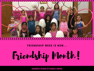 Friendship Week is now Friendship Month!
