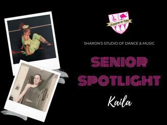 Senior Spotlight: Kaila Cunningham