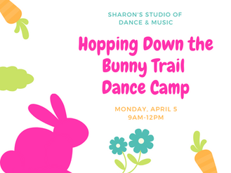 NEW! Hopping Down the Bunny Trail Dance Camp