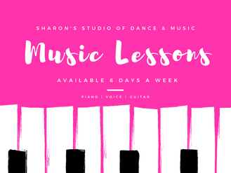 Music Lessons Six Days a Week!