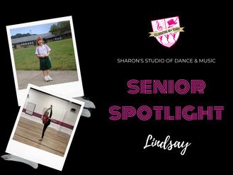 Senior Spotlight: Lindsay Sperling