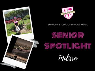 Senior Spotlight: Melissa Pathil