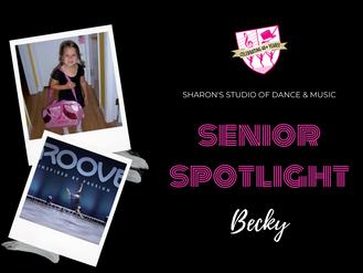 Senior Spotlight: Becky Donahue