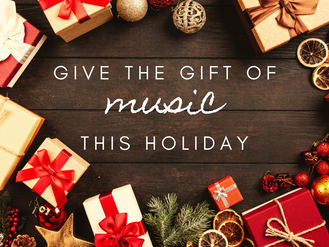 Give the Gift of Music This Holiday