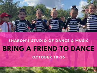 Bring A Friend To Your Dance Class or Music Lesson!