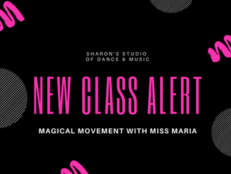 NEW! Magical Movement with Miss Maria