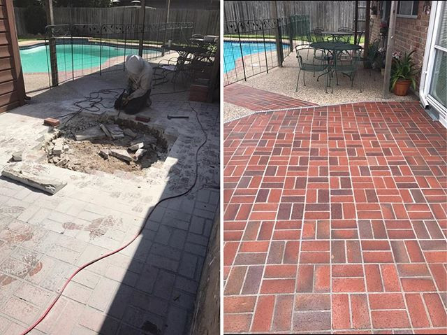 Repaired pavers after tree trunk was removed.jpg Before and After.jpg