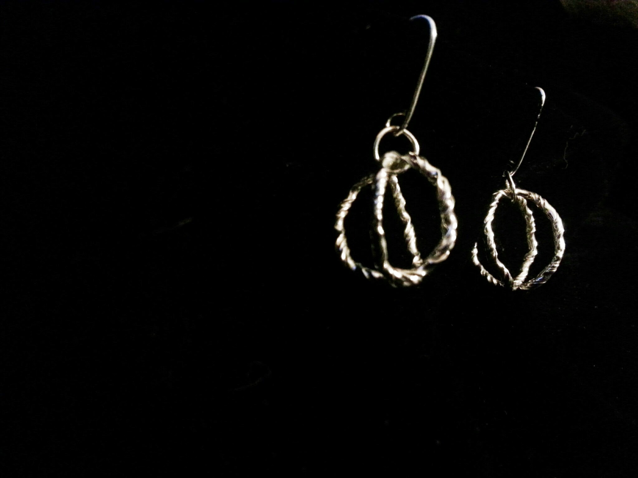 "Earrings ""Crown"""