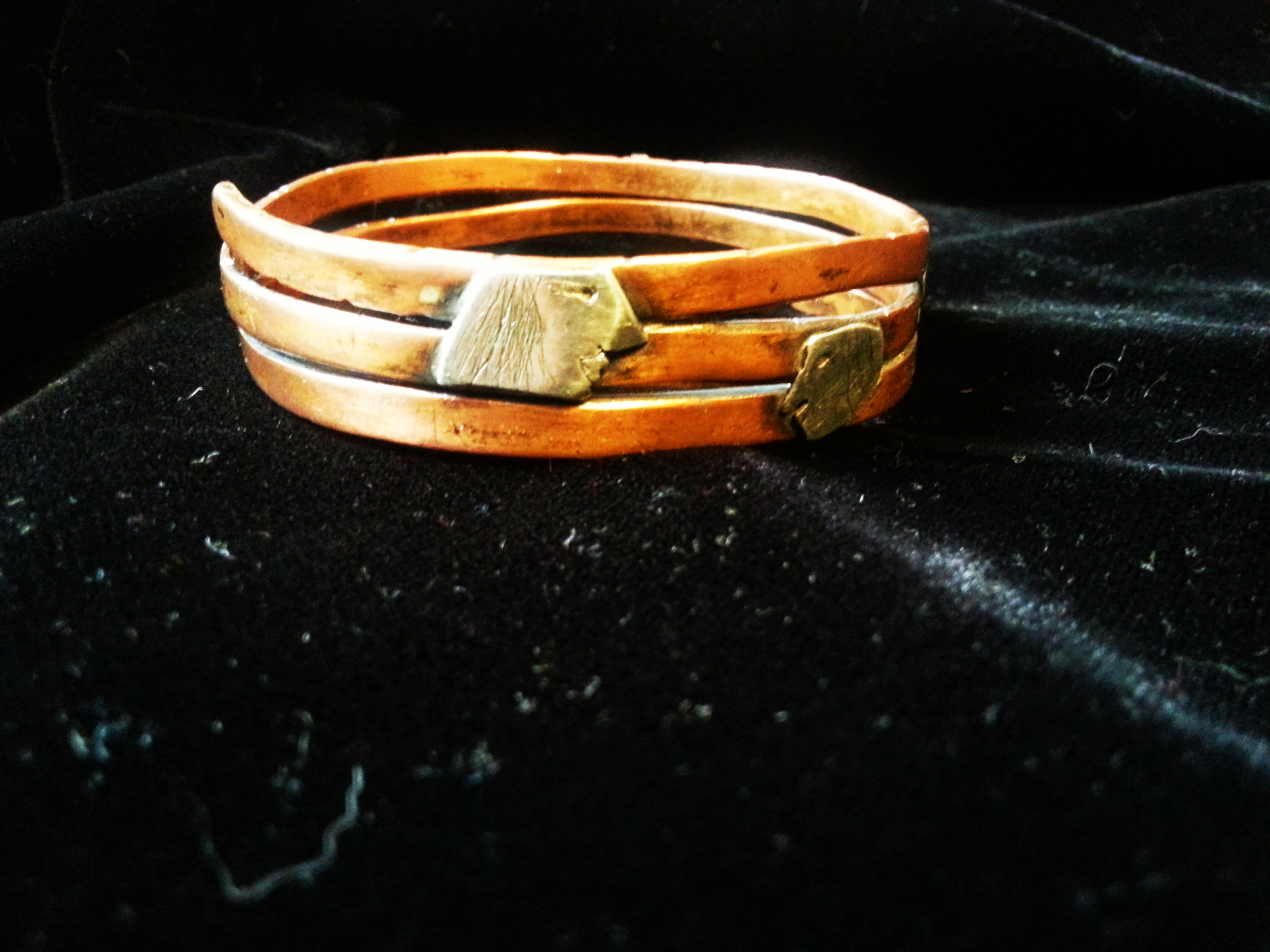 "Bangle "" Adam & Eve """