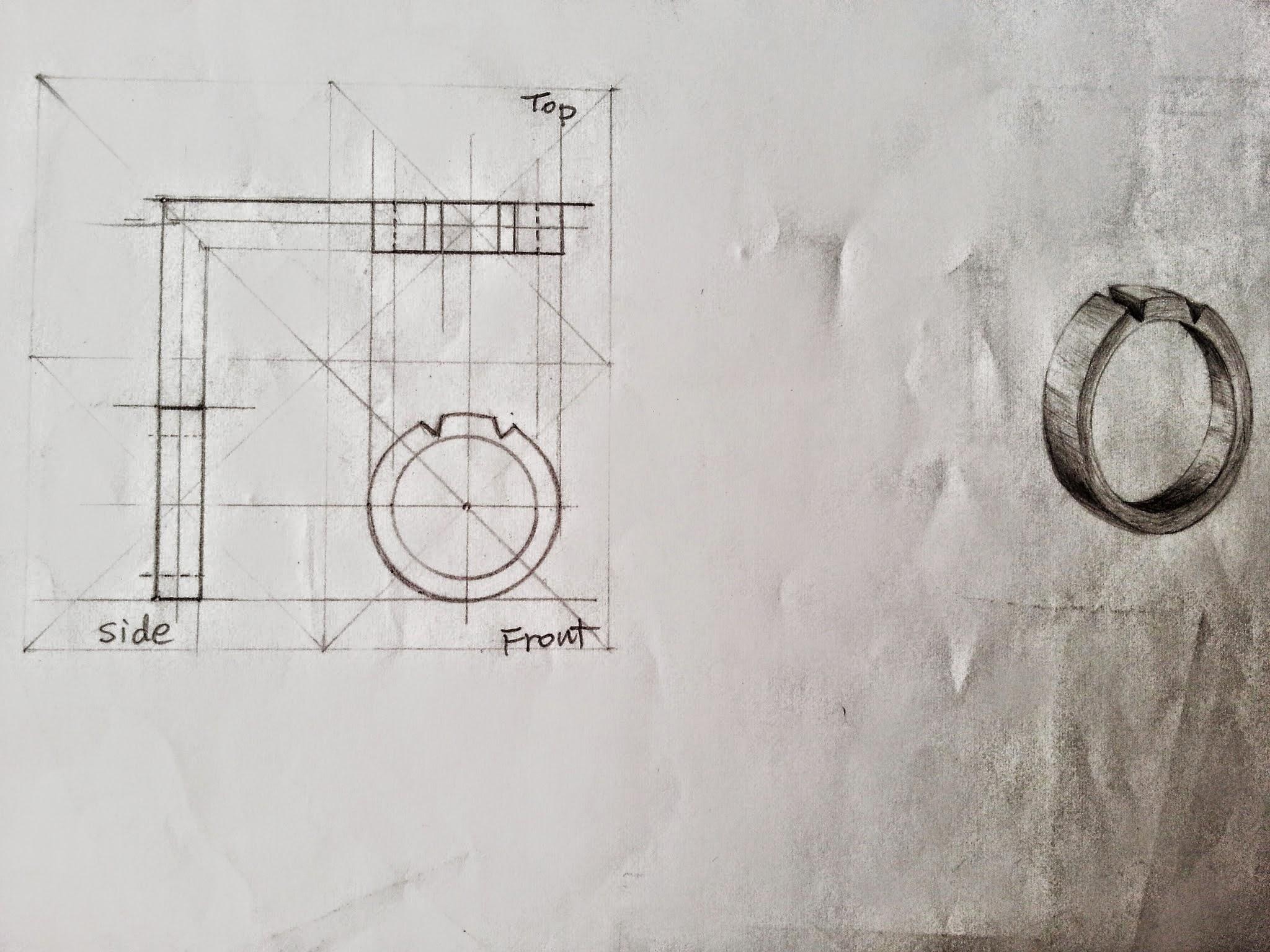 Mechanical Drawing, Ring