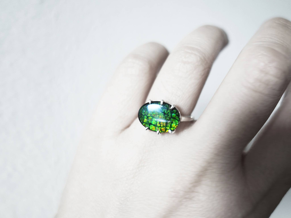 """J Lim Jewelry handcrafted ring """"Forest"""""""