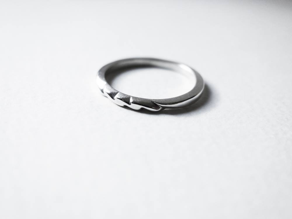 Angles, Handcrafted by Jungsun Lim, Sterling Silver