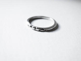 Angles - Silver Ring, Handmade by J Lim Jewelry