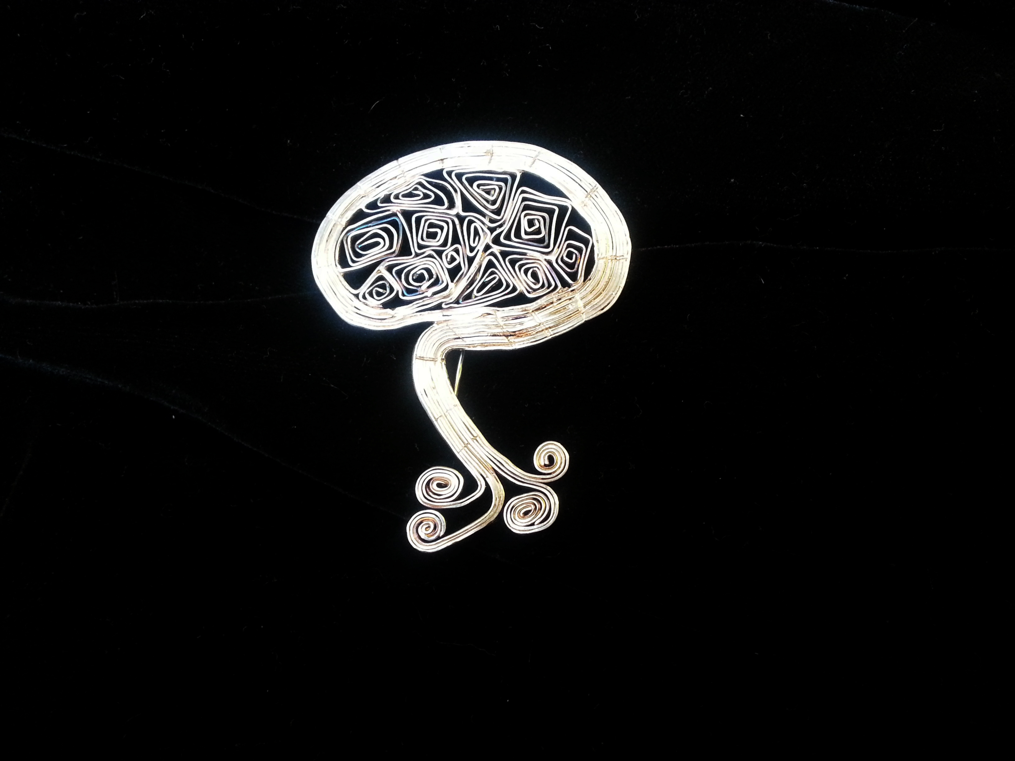 "Brooch "" Tree """