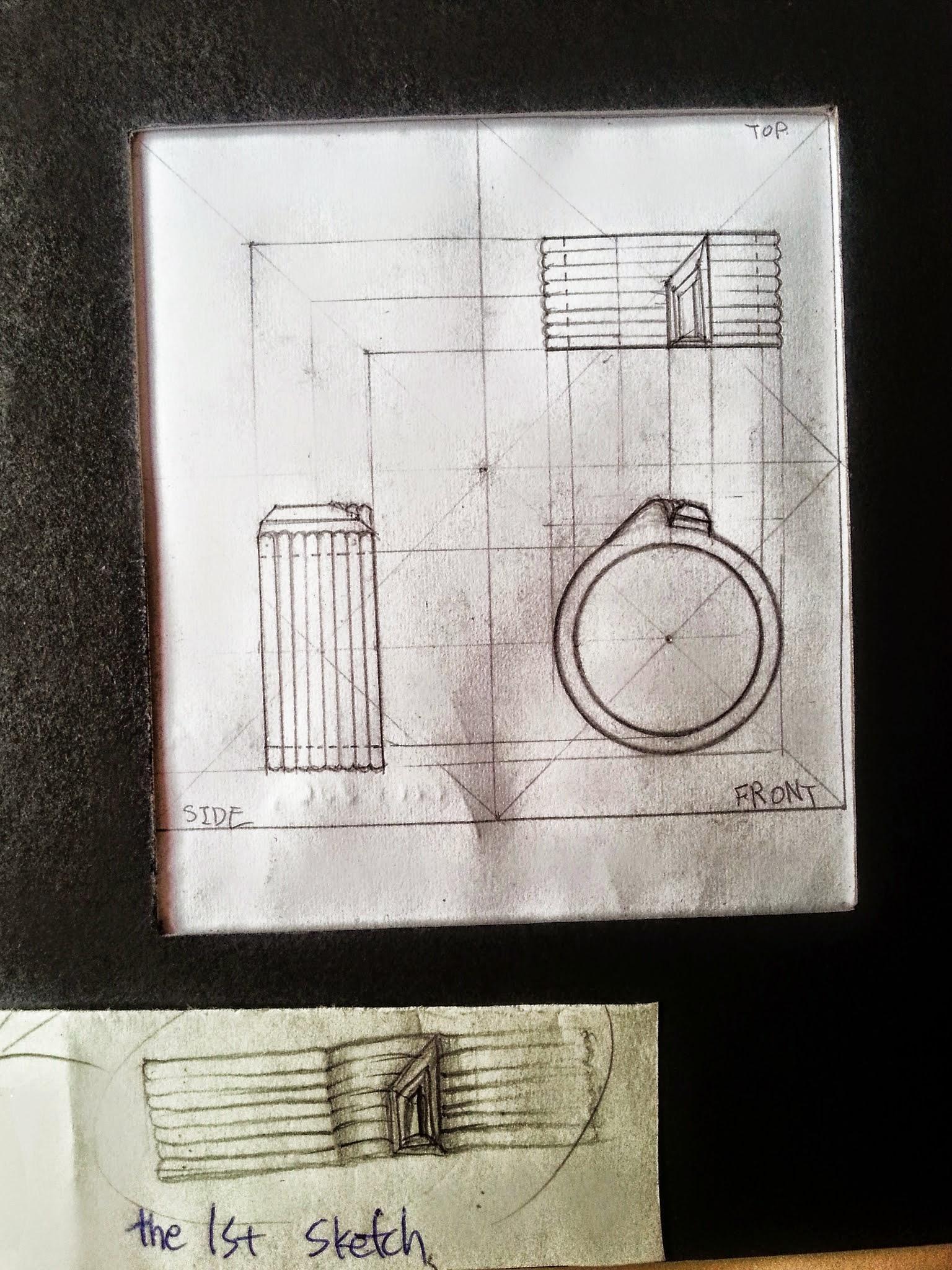 Design Sketch, Ring