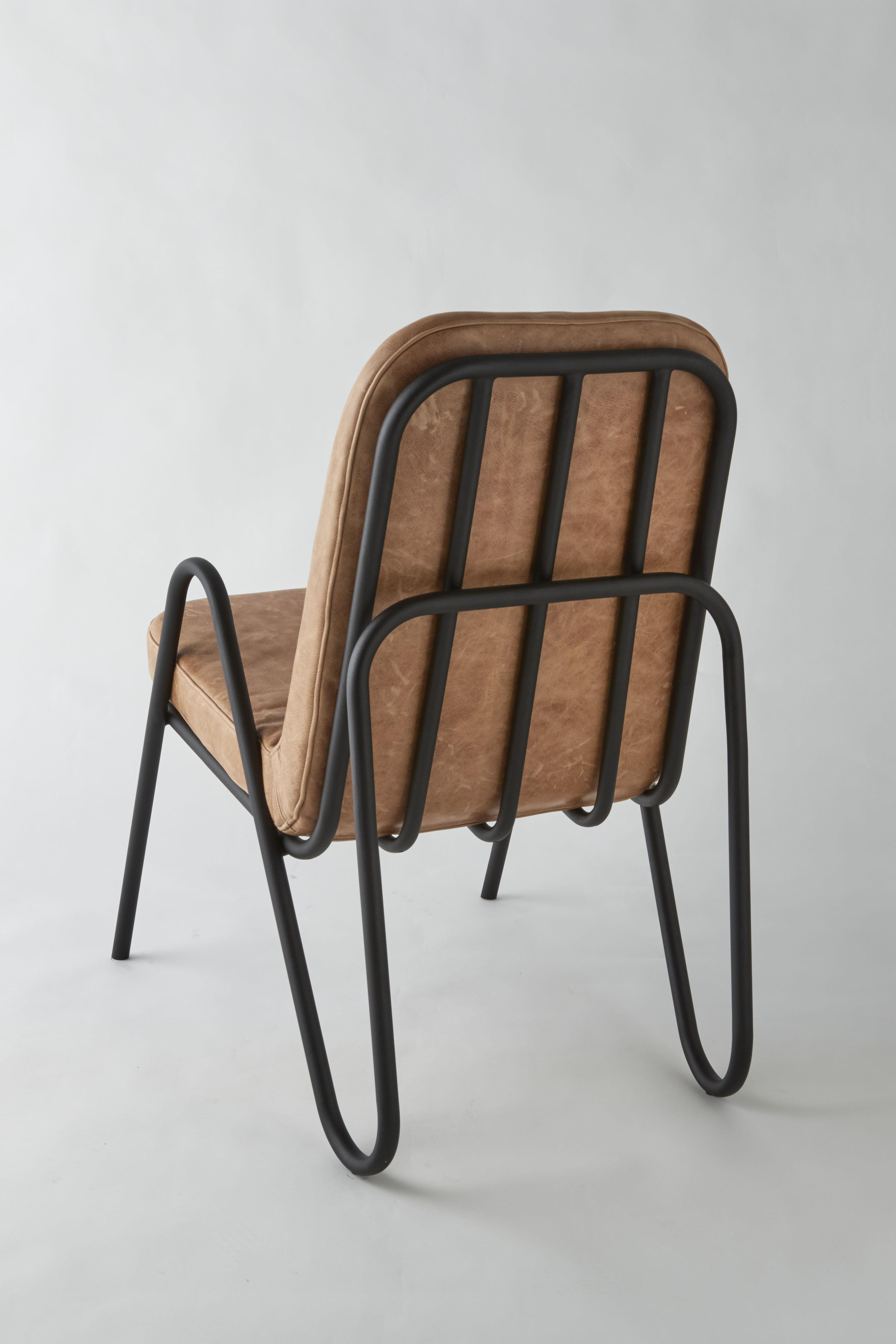 mayor chair tan back