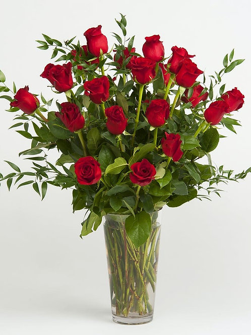 Lux Red Roses