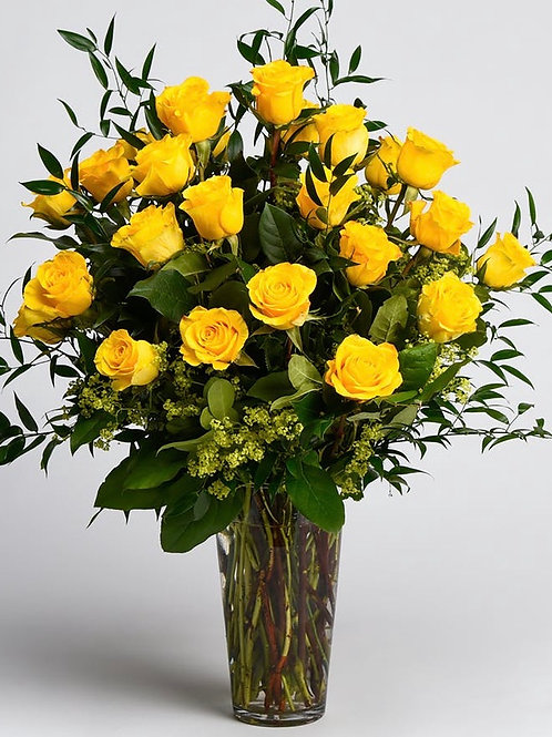 Yellow Lux Roses