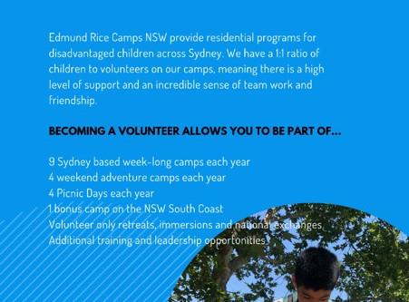 Calling All New Volunteers!!
