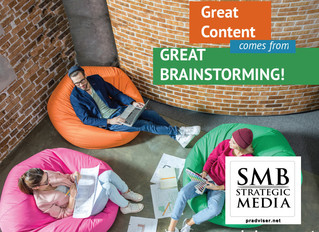 Keep a Steady Flow of Content by Effectively Brainstorming