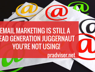 Email Marketing is Still the Best Small Business Lead Generation Juggernaut You're Not Using!