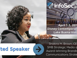 Shakira M. Brown to Present at InfoSec World 2019 Cyber Security Conference at Disney Contemporary R