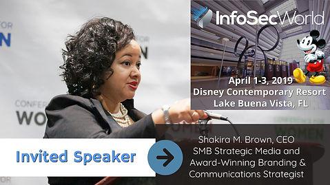 Professional Speaker Shakira Brown Talks Cyber Security