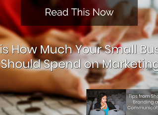 This is How Much Your Small Business Should Spend on Marketing: Your Budget Question Finally Answere