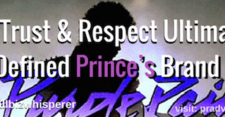 How Trust & Respect Ultimately Defined Prince's Brand